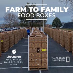 Farm to Families Food Boxes @ Eagle LifeChurch Parking Lot