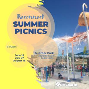 Reconnect Summer Picnics 2021 @ Guerber Park